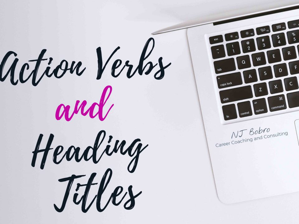Action Verbs and Heading Titles